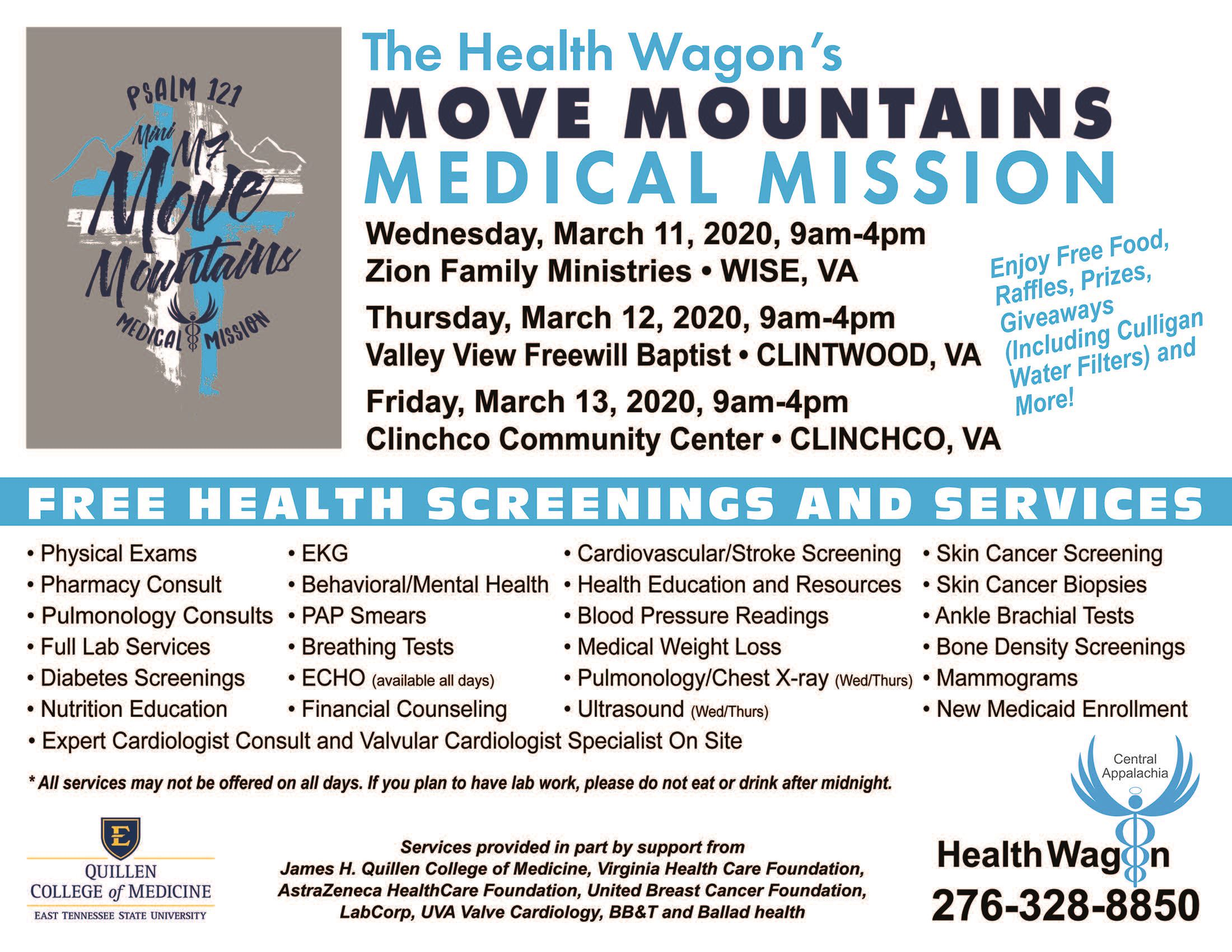 Health Wagon Flyer